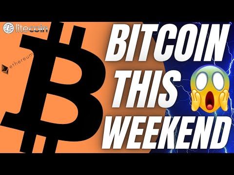 BIG BITCOIN MOVE THIS WEEKEND!?  Ethereum Litecoin Crypto