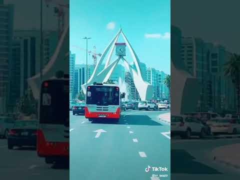 Dubai clock tower. Deira Dubai