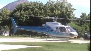 AS350 Esquilo Heliponto  Lagoa R.Freitas (SDRJ)
