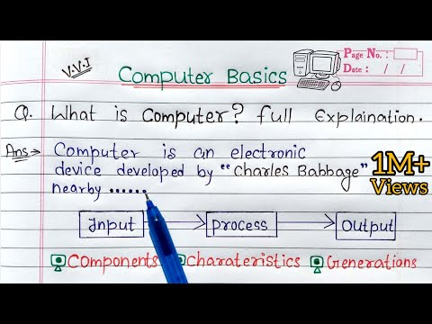 What is Computer? full Explanation   Introduction to Computer in Hindi