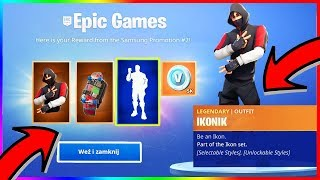 How to unlock the new * IKONIK * bundle in Fortnite!? (New Skin Fortnite IKONIK)
