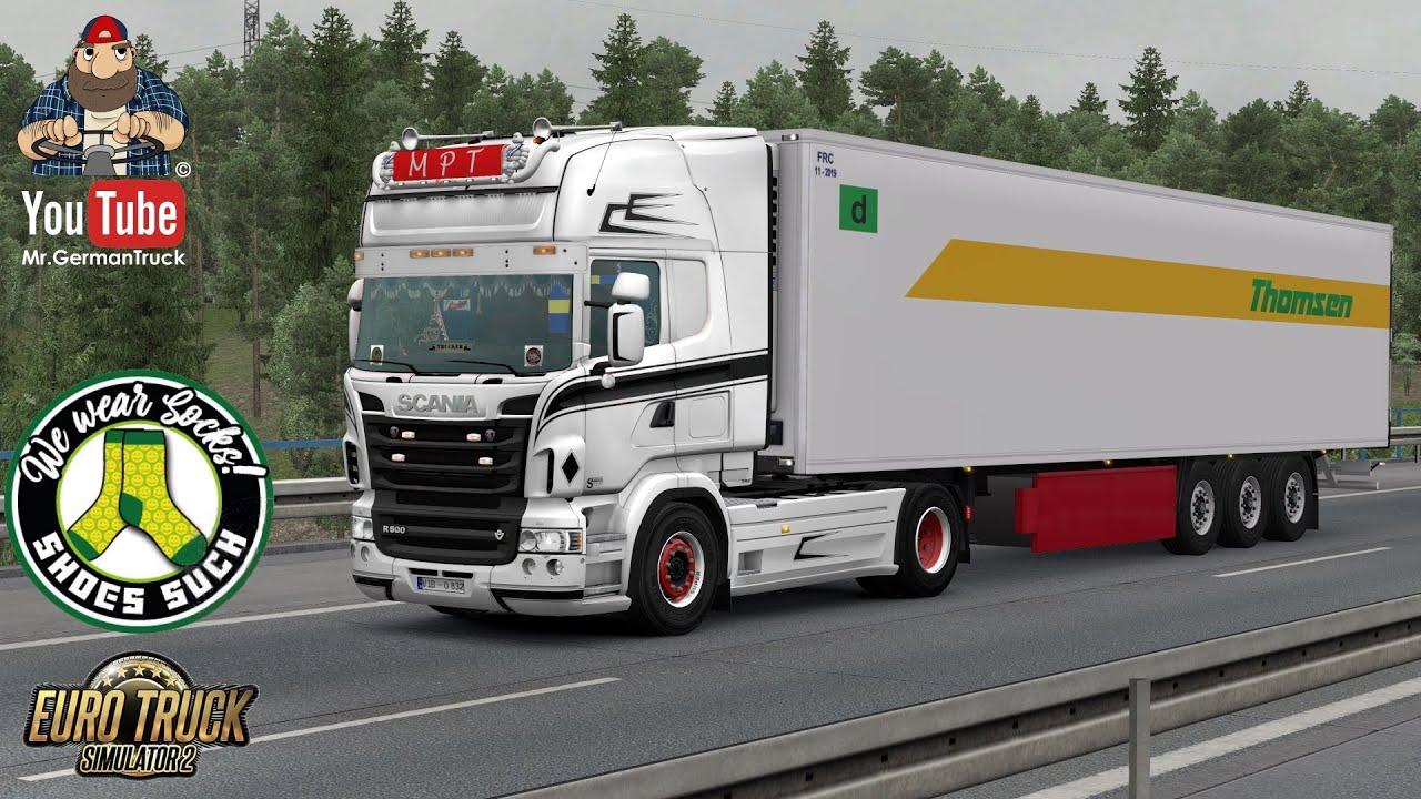 [ETS2 v1.36] Scania RJL Multicolor MPT Style *SkinWork*