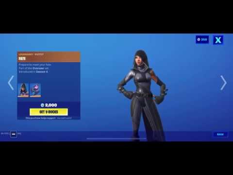Fortnite Item Shop (June 3, 2020) (Fortnite Battle Royale) FATE SKIN Is Back!!!