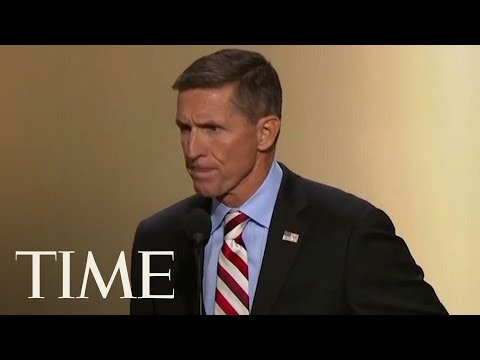 Former National Security Adviser Michael Flynn Speaks At 2016 Republican National Convention   TIME