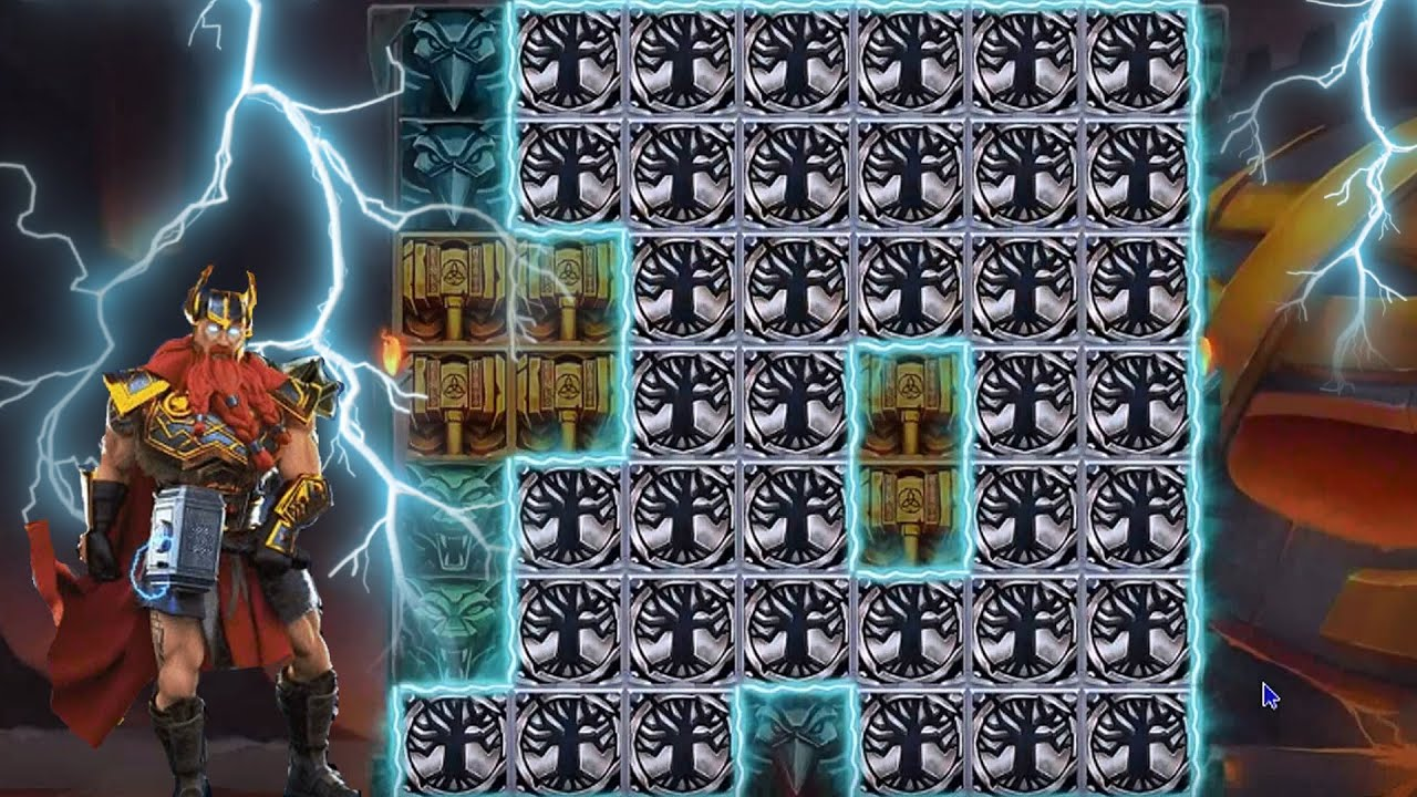 👑 Thor's Lightning Big Win Free Spins 💰 A Slot By Red Tiger Gaming.