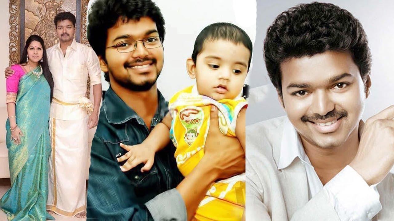 Actor Vijay Family Photos with Wife Sangeetha, Son Sanjay ...