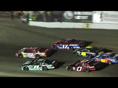 Slinger Speedway 100 Lap Super Late Model Feature Highlights Sept 3 2017