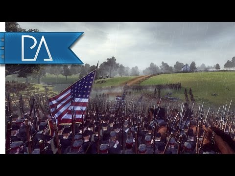 First Battle of Bull Run: A House Divided - North & South: American Civil War Mod Gameplay