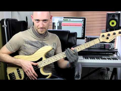 Slap Bass Lesson - Beginner/Intermediate - with Scott Devine (L#74)