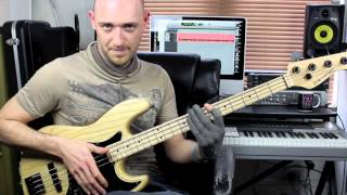 Download Slap Bass Lesson - Beginner/Intermediate - with Scott Devine (L#74) Mp3 and Videos