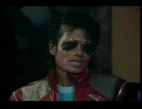 MICHAEL JACKSON - BEAT IT. INTERVIEW 1983 - MAKING OF