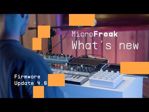 MicroFreak - Firmware Update V4.0. | ARTURIA