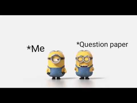 Exam Time Very Funny Whatsapp Status #30sec