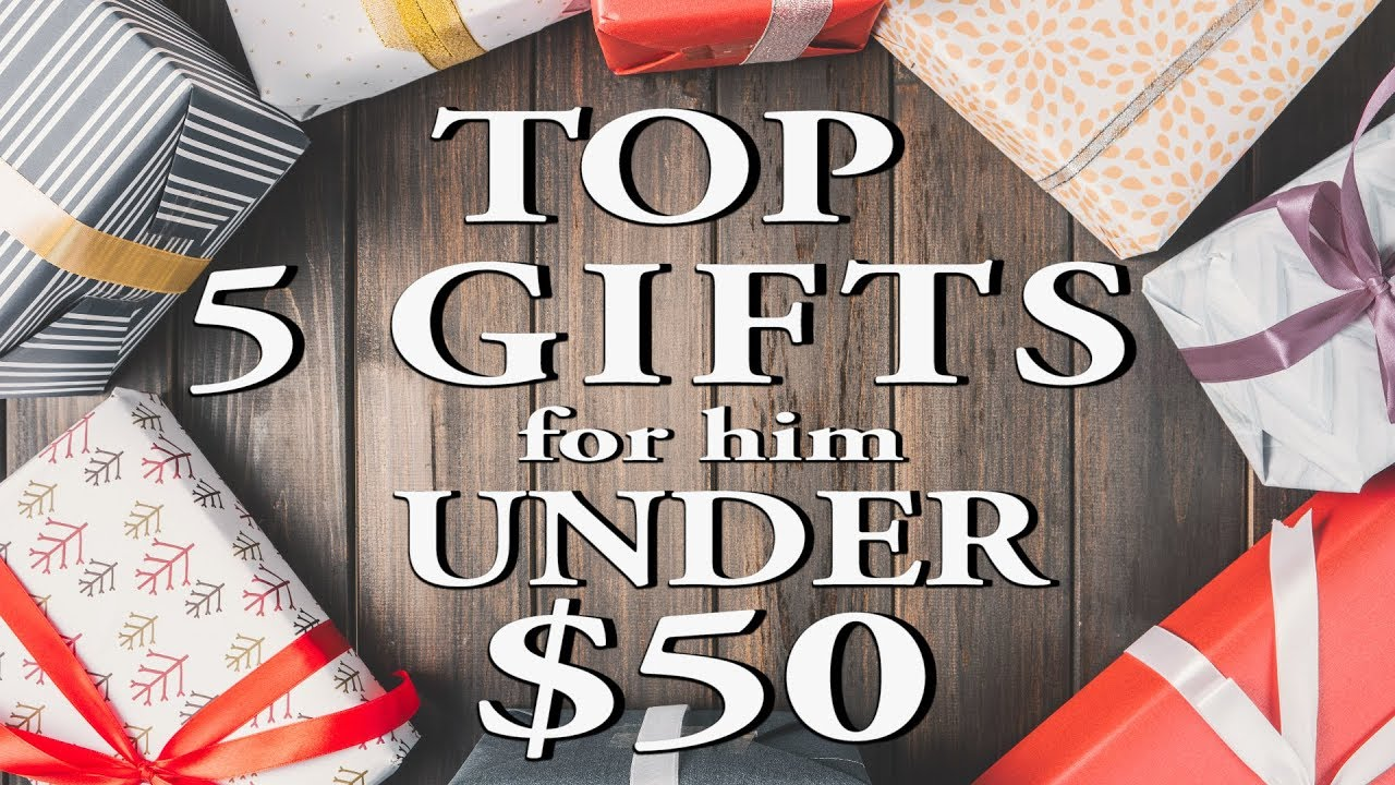 top 5 gifts for him under 50 best christmas gifts 2018