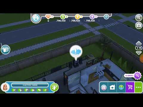 Have 3 sims party with bree- DIY homes: peaceful patio 🏡