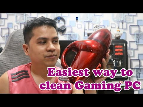 How to Clean your PC - The Super Easy Way yet super effective!