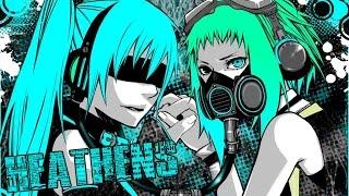 Nightcore - Heathens [Female Rock Cover]