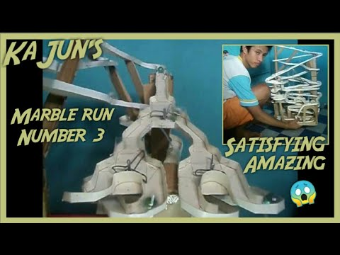 Marble run recycled iii 3 by rey monico iii youtube for Toilet paper roll challenge