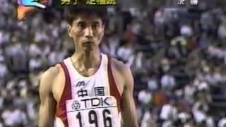 【1991年世界陸上走り幅跳び決勝①】マイク・パウエル4回目まで