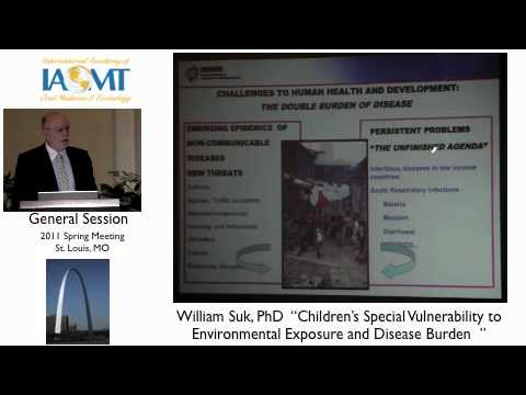 Dr.William Suk discusses children's vulnerability to environmental toxins IAOMT St. Louis 2011