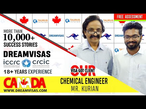 Our client Ebin in Toronto with our post landing expert Vaibhav