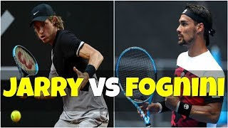 Nicolas Jarry vs Fabio Fognini | FINAL Sao Paulo 2018 Highlights HD
