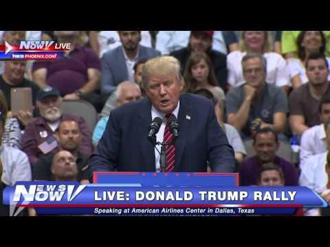 FNN: Donald Trump Dallas Rally