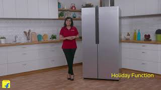 Haier Frost Free Side by Side Refrigerator