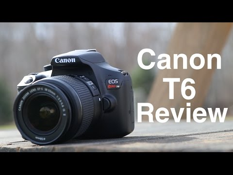 Canon Rebel T6 (1300D) Review