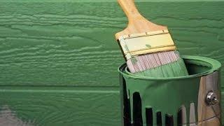 Окраска дерева – технология покраски древесины