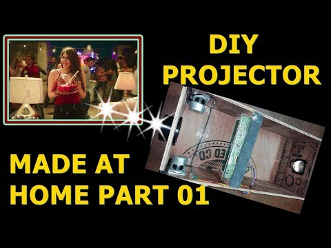 diy-projector-made-at-home- -led-lcd-projector