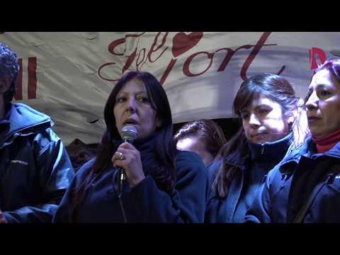 Acto PepsiCo: habla Ana Clara, trabajadora despedida