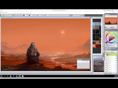 MuYoung Kim Visits Mars with Corel Painter 2017