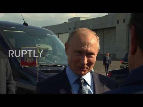 Russia: Putin inspects Kinzhal missile system before meeting Pompeo in Sochi