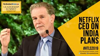 Watch: Netflix CEO reveals Rs 3000 crore plan for India at HTLS 2019