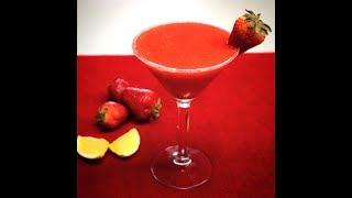 Strawberry Margarita I Frozen Strawberry Margarita Recipe I Margarita with Fresh Strawberries