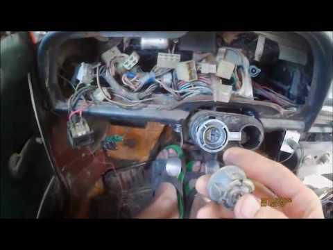 Вопрос: Как извлечь сломанный ключ из замка зажигания?