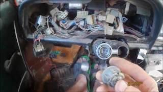 Замена замка зажигания на ваз 2107 с видео снятия и установки