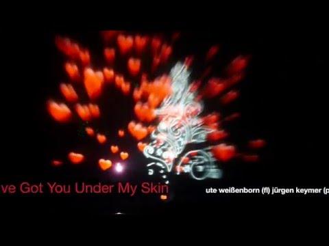 I've got you under my skin - jazz - swing - flute & piano