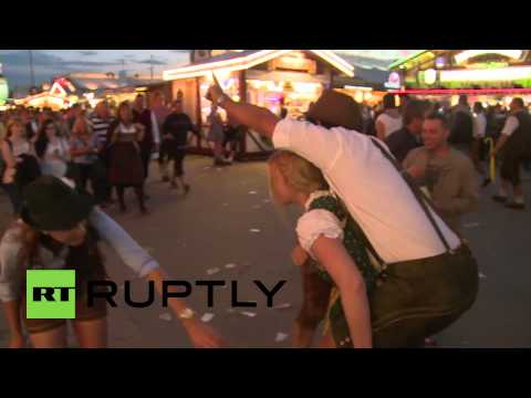 Germany: This is what a day of drinking at Oktoberfest does
