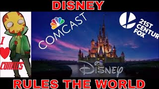 Comcast Gives Up On Fox Now Disney Rules The World : Breaking News In The Comic Book Movie Wars