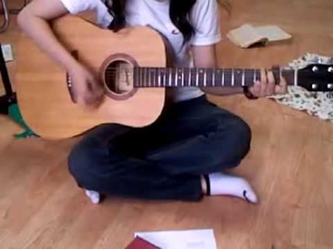 YUI - Merry go round. Acoustic cover