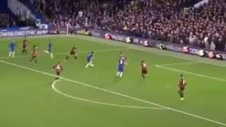 Eden hazard goal vs Bournemouth