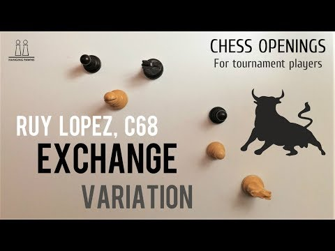 Ruy Lopez - Exchange Variation ⎸Chess Openings