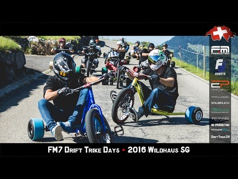 FM7 Drift Trike Days • 2016 Wildhaus SG Switzerland