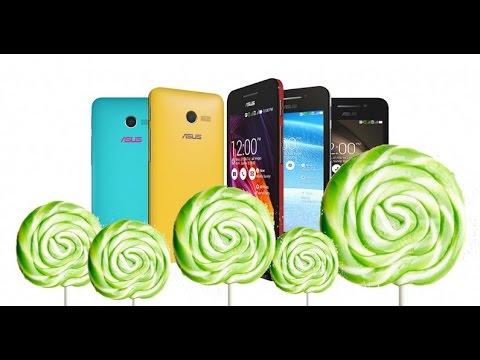 ต่อเนื่อง!!! Asus Zenfone ทุกรุ่นจะได้อัพเป็น Android 5.0 Lolipop