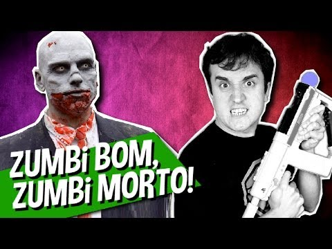 ZUMBI BOM É ZUMBI MORTO! - The House of The Dead Overkill: Extended Cut (Playstation Move)