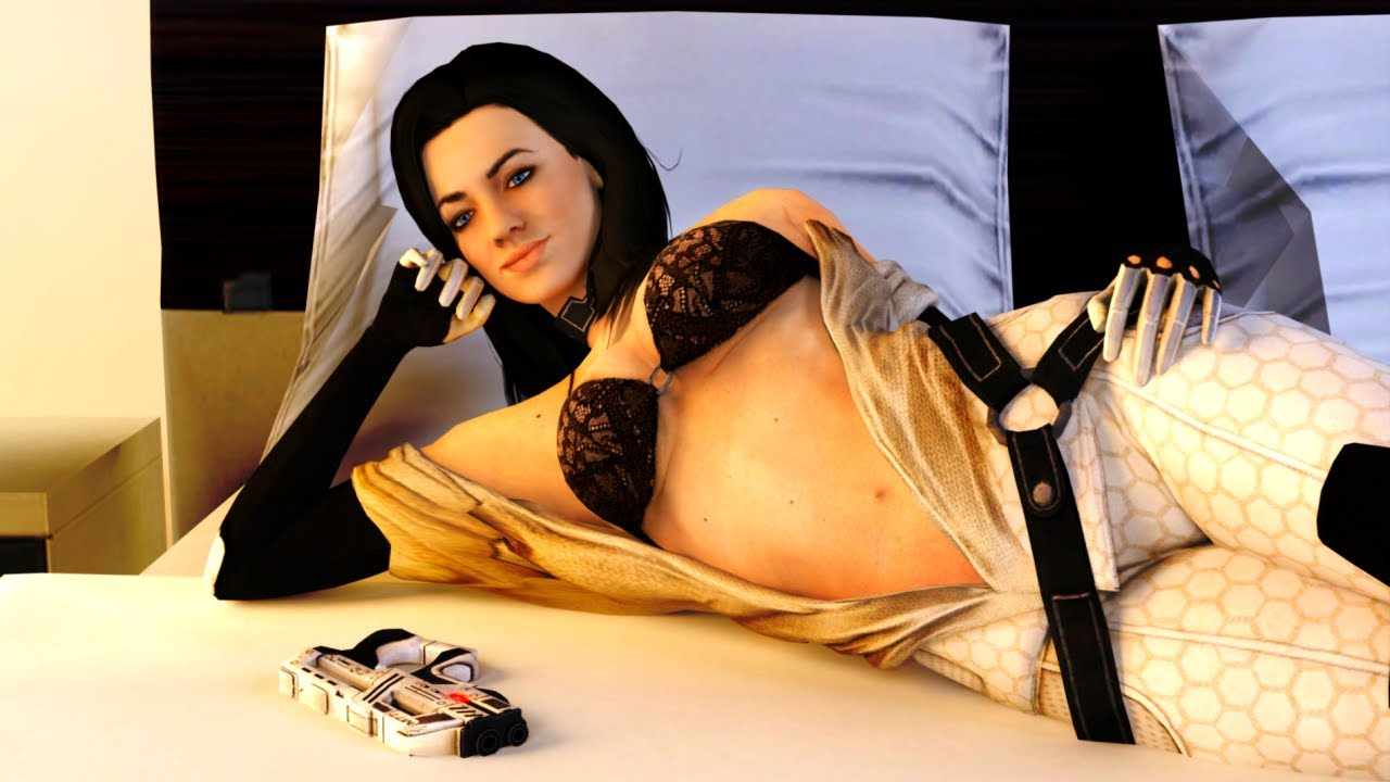 3d miranda lawson hot dancing mass effect - 1 part 8
