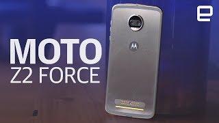 Moto Z2 Force   Hands-on