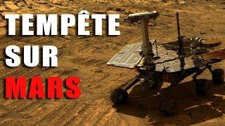 Mars : Le rover Opportunity au coeur de la tempête ! DNDE#63